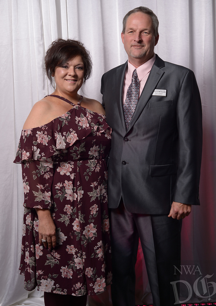 NWA Democrat-Gazette/ANDY SHUPE<br /> Visitors enjoy the annual Best of the Best gala Thursday, Oct. 27, 2017, at the Metroplex Event Center in Springdale.