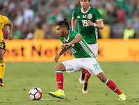 Pasadena, CA - Thursday June 09, 2016: Jesus Manuel Corona during a Copa America Centenario Group C match between Mexico (MEX) and Jamaica (JAM) at Rose Bowl Stadium.