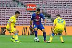 League Santander 2017/2018 - Game: 7.<br /> FC Barcelona vs UD Las Palmas: 3-0.<br /> Luis Suarez vs Ximo Navarro.
