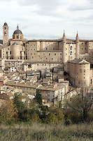 Veduta di Urbino.<br /> Overview of Urbino<br /> UPDATE IMAGES PRESS/Riccardo De Luca