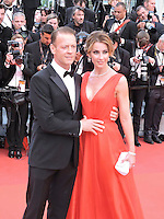 Cannes France May 12 2016 Rocco Siffredi, Rozsa Tassi attends the Money monster Premiere at the Palais des Festival During the 69th Annual Cannes Film Festival