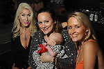 From left: Leslie Tyler Fink, Erica Rose holding Holland Rose Gentry and Nicole Fertitta at the Married to Medicine Houston premier party at VrSi Thursday Nov. 10, 2016.(Dave Rossman photo)