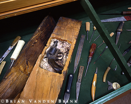 Confiscated inmate weapons, Prison Museum