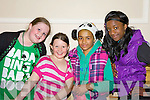 Pictured at the Global Party at the Brandon Hotel on Saint Patricks Day were Courtney Coffey, Shaniece Coffey, Sherraya O'Connell, Gift Ovbude.