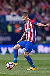 Gabriel Fernandez Arenas, Gabi, of Atletico de Madrid during the La Liga match between Atletico de Madrid vs Villarreal CF at the Estadio Vicente Calderon on 25 April 2017 in Madrid, Spain. Photo by Diego Gonzalez Souto / Power Sport Images