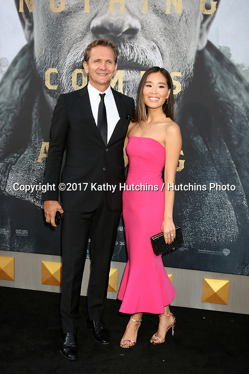 "LOS ANGELES - MAY 8:  Sebastian Roche, Alicia Hannah Kim at the ""King Arthur Legend of the Sword"" World Premiere on the TCL Chinese Theater IMAX on May 8, 2017 in Los Angeles, CA"