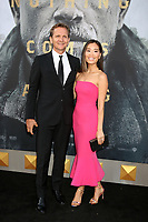 """LOS ANGELES - MAY 8:  Sebastian Roche, Alicia Hannah Kim at the """"King Arthur Legend of the Sword"""" World Premiere on the TCL Chinese Theater IMAX on May 8, 2017 in Los Angeles, CA"""