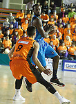 Montakit Fuenlabrada's Alex Llorca (l) and Alba Berlin's Dominique Johnson during Eurocup, Regular Season, Round 6 match. November 16, 2016. (ALTERPHOTOS/Acero)