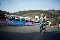 Ellen Van Loy (BEL/Telenet-Fidea) just meters away from finishing 3rd<br /> <br /> Superprestige Francorchamps 2014