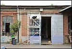 AK al lavoro negli spazi di BUNKER, Il nuovo progetto di Urbe nell'ex stabilimento SICMA Torino. Settembre 2012