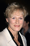 "Glenn Close pictured at the premiere of ""Beloved"" at Ziegfeld Theater in New York City on October 8, 1998."