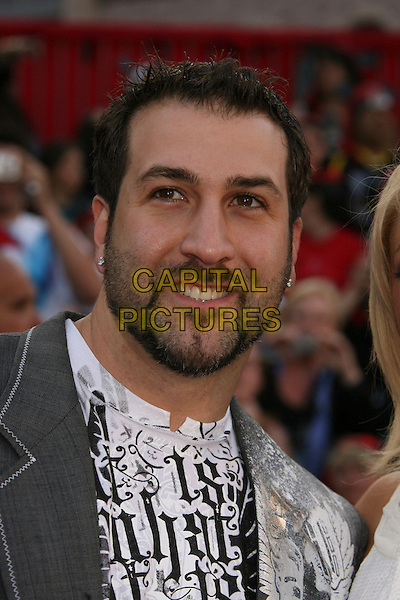 """JOEY FATONE.""""Pirates Of The Caribbean: At World's End"""" World Premiere held at Disneyland, Anaheim, California, USA,.May 19th, 007.3 headshot portrait goatee facial hair .CAP/ADM/RE.©Russ Elliot/AdMedia/Capital Pictures"""
