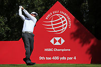 Phil Mickelson (USA) on the 9th tee during the 2nd round of the WGC HSBC Champions, Sheshan Golf Club, Shanghai, China. 01/11/2019.<br /> Picture Fran Caffrey / Golffile.ie<br /> <br /> All photo usage must carry mandatory copyright credit (© Golffile   Fran Caffrey)