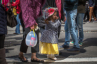 People attend the annual easter parade in Manhattan, New York, 03.27.2016. This annual tradition has been taking place in New York City for over 100 years, Photo by VIEWpress/Maite H. Mateo.