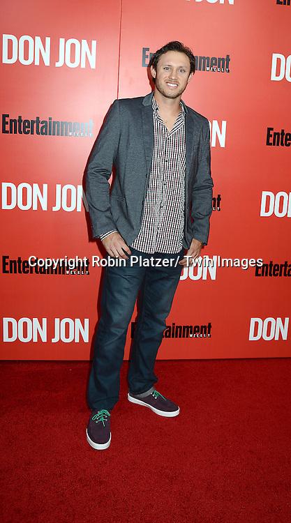 """Jason den Dekker attends the """"Don Jon"""" New York Movie Premiere on September 12, 2013 at the SVA Theatre in New York City."""