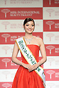 November 4, 2014, Tokyo, Japan - Miss International Japan 2014 Lila Hongo attends the Miss International Japan 2015 in Tokyo on November 4, 2014. (Photo by AFLO)