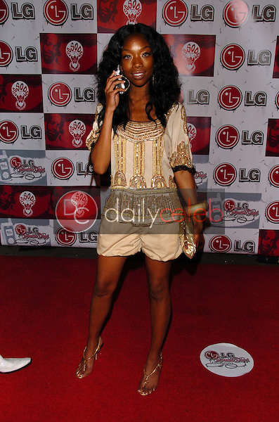 Brandy Norwood<br />at the LG and Jermain Dupri FUSIC Party. Day After Club, Hollywood, CA. 06-27-06<br />Scott Kirkland/DailyCeleb.Com 818-249-4998