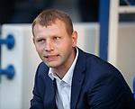 23.08.2018 Rangers v Ufa: Sergey Tomarov Manager of UFA