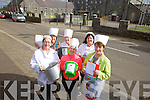 Members of the Lixnaw Branch of Kerry Hospice Foundation are busy organising their annual Good Friday Walk and Soup Kitchen. Pictured were: Patricia Heffernan, Maria Conway, Francis Brosnan. Back l-r were: Kathleen McElligott, Josephine Stackpoole and Sandra O'Sullivan.