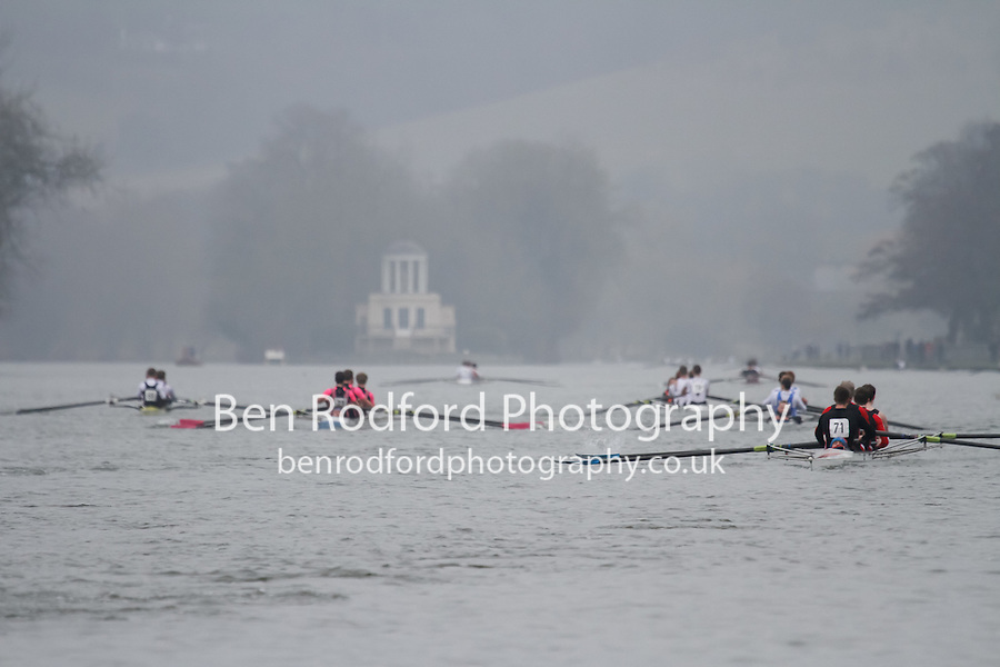 Crew: 71 - Warwick Univ  - NOV.4+ <br /> <br /> Henley Fours &amp; Eights Head 2017<br /> <br /> To purchase this photo, or to see pricing information for Prints and Downloads, click the blue 'Add to Cart' button at the top-right of the page.