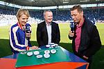 Auslosung der Relegationsspiele zur 3. Liga 2017/18, Relegation beim Spiel in der 3. Liga, 1. FC Magdeburg - Karlsruher SC.<br /> <br /> Foto &copy; PIX-Sportfotos *** Foto ist honorarpflichtig! *** Auf Anfrage in hoeherer Qualitaet/Aufloesung. Belegexemplar erbeten. Veroeffentlichung ausschliesslich fuer journalistisch-publizistische Zwecke. For editorial use only.