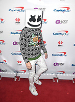 PHILADELPHIA, PA - DECEMBER 05: Marshmello attends Q102's Jingle Ball 2018 at Wells Fargo Center on December 5, 2018 in Philadelphia, Pennsylvania. <br /> CAP/MPI/IS<br /> &copy;IS/MPI/Capital Pictures