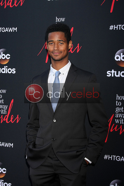 "Alfred Enoch at the ""How To Get Away With Murder"" ATAS FYC Event, Sunset Gower Studios, Los Angeles, CA 05-28-15<br /> <br /> David Edwards/Newsflash Pictures 818-249-4998"