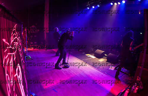 PARADISE LOST - performing live on the 25th Anniversary Tour at the Wulfrun Hall in Wolverhampton UK - 30 Oct 2013.  Photo credit: Tony Woolliscroft/IconicPix