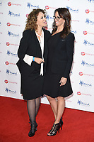 Nadia Sawalha &amp; Andrea McLean at the Virgin Money Giving Mind Media Awards at the Odeon Leicester Square, London, UK. <br /> 13 November  2017<br /> Picture: Steve Vas/Featureflash/SilverHub 0208 004 5359 sales@silverhubmedia.com