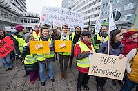 2014/11/06 Bildung | Lehrbeauftragte portestieren gegen prekäre Arbeitsplätze