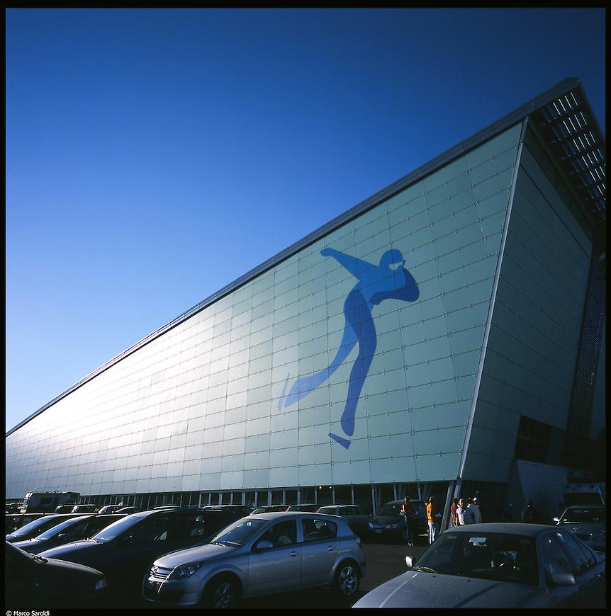 La nuova città di Torino, completata per le olimpiadi del 2006. L'Oval.
