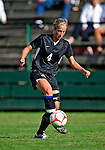28 August 2009: University of Montreal Carabins' defenseman Melynda Couture in action against the University of Vermont Catamounts during the 2009 TD Bank Women's Soccer Classic at Centennial Field in Burlington, Vermont. The Catamounts defeated the Carabins 3-2 in sudden death overtime. Mandatory Photo Credit: Ed Wolfstein Photo