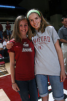 STANFORD, CA - FEBRUARY 1:  Fans of the Stanford Cardinal during Stanford's 68-51 win over the UCLA Bruins on February 1, 2009 at Maples Pavilion in Stanford, California.