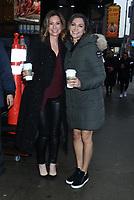 February 13, 2020 Paula Faris, Rebecca Jarvis at Good Morning America in NewYork.February 13, 2020. Credit:  RW/MediaPunch