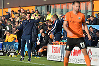 Bristol Rovers Manager Darrell Clarke during Barnet vs Bristol Rovers, Emirates FA Cup Football at the Hive Stadium on 11th November 2018