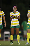 04 September 2015: Oregon's Kira Wagoner. The North Carolina State University Wolfpack hosted the Oregon University Ducks at Dail Soccer Field in Raleigh, NC in a 2015 NCAA Division I Women's Soccer game. NC State won the game 2-0.