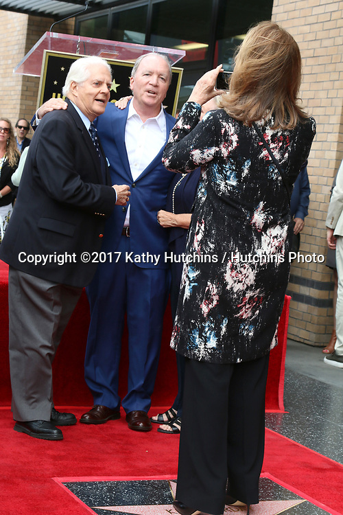 LOS ANGELES - MAY 15:  Bill Hayes, Ken Corday, Deidre Hall at the Ken Corday Star Ceremony on the Hollywood Walk of Fame on May 15, 2017 in Los Angeles, CA