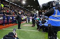 Photographers take the photo of Fulham manager Claudio Ranieri before kick off<br /> <br /> Photographer Alex Dodd/CameraSport<br /> <br /> The Premier League - Burnley v Fulham - Saturday 12th January 2019 - Turf Moor - Burnley<br /> <br /> World Copyright © 2019 CameraSport. All rights reserved. 43 Linden Ave. Countesthorpe. Leicester. England. LE8 5PG - Tel: +44 (0) 116 277 4147 - admin@camerasport.com - www.camerasport.com