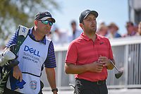 Francesco Molinari (ITA) departs the 7th tee during round 1 of the World Golf Championships, Dell Match Play, Austin Country Club, Austin, Texas. 3/21/2018.<br /> Picture: Golffile | Ken Murray<br /> <br /> <br /> All photo usage must carry mandatory copyright credit (&copy; Golffile | Ken Murray)