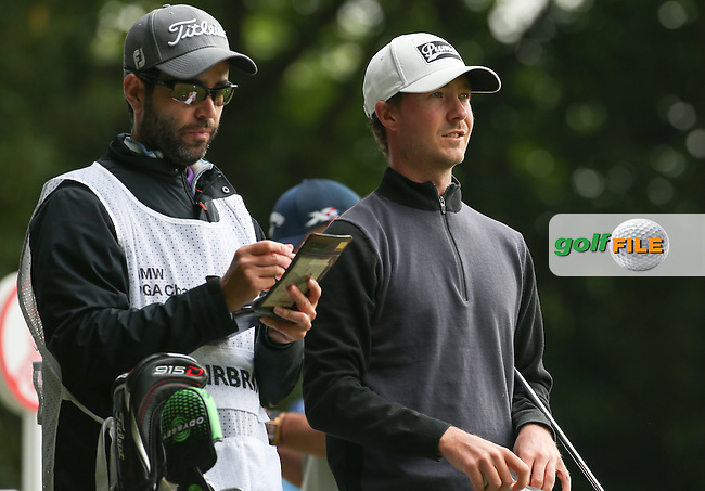 Jens Fahrbring (SWE) during Round Three of the 2016 BMW PGA Championship over the West Course at Wentworth, Virginia Water, London. 28/05/2016. Picture: Golffile | David Lloyd. <br /> <br /> All photo usage must display a mandatory copyright credit to &copy; Golffile | David Lloyd.
