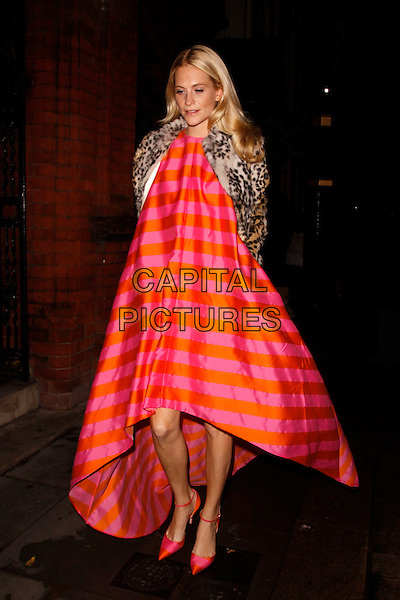 LONDON, ENGLAND - NOVEMBER 20 :Poppy Delevingne arrives at The Sugarplum Ball at One Mayfair on November 20, 2013 in London, England.<br /> CAP/AH<br /> &copy;Adam Houghton/Capital Pictures