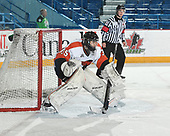 Sudbury, ON - April 27 2018 - Game 14 - Cantonniers de Magog vs Lethbridge Hurricanes at the 2018 TELUS Cup at the Sudbury Community Arena in Sudbury, Ontario, Canada (Photo: Matthew Murnaghan/Hockey Canada)