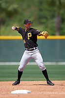 Pittsburgh Pirates Tyler Filliben (66) during a minor league Spring Training game against the New York Yankees on March 26, 2016 at Pirate City in Bradenton, Florida.  (Mike Janes/Four Seam Images)