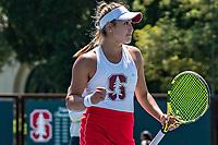 Stanford Tennis W vs Stanford Women's Tennis Super Regionals versus Kansas, May 13, 2019