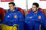 Spain's Kepa Arrizabalaga (l) and Sergio Rico during FIFA World Cup 2018 Qualifying Round match. March 24,2017.(ALTERPHOTOS/Acero)