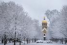 Jan. 5, 2013; Main Quad in winter.<br /> <br /> Photo by Matt Cashore/University of Notre Dame