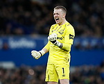 Jordan Pickford of Everton during the Premier League match at Goodison Park, Liverpool. Picture date: 7th December 2019. Picture credit should read: Simon Bellis/Sportimage
