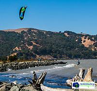 Kite Boarding test