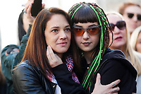 Asia Argento moved<br /> Roma 20/01/2018. Women&rsquo;s March Roma, marcia di solidarieta' per i diritti civili e i diritti delle donne.<br /> Rome January 20th 2018. Women&rsquo;s March Rome, march of solidarity for the civil rights and civil rights for women, organized by the American community of Rome, simultaneously with the women's march that take place worldwide on January 20th.<br /> Foto Samantha Zucchi Insidefoto