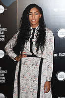 Jessica Williams<br /> at the Sundance Film Festival:London opening photocall, Picturehouse Central, London.<br /> <br /> <br /> &copy;Ash Knotek  D3270  01/06/2017